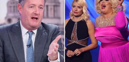 Gemma Collins thanks Piers Morgan for support after 'tough week' amid feud with Jason Gardiner