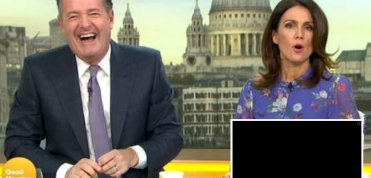 Piers Morgan taken off air after he slams Good Morning Britain crew's 'abilities'