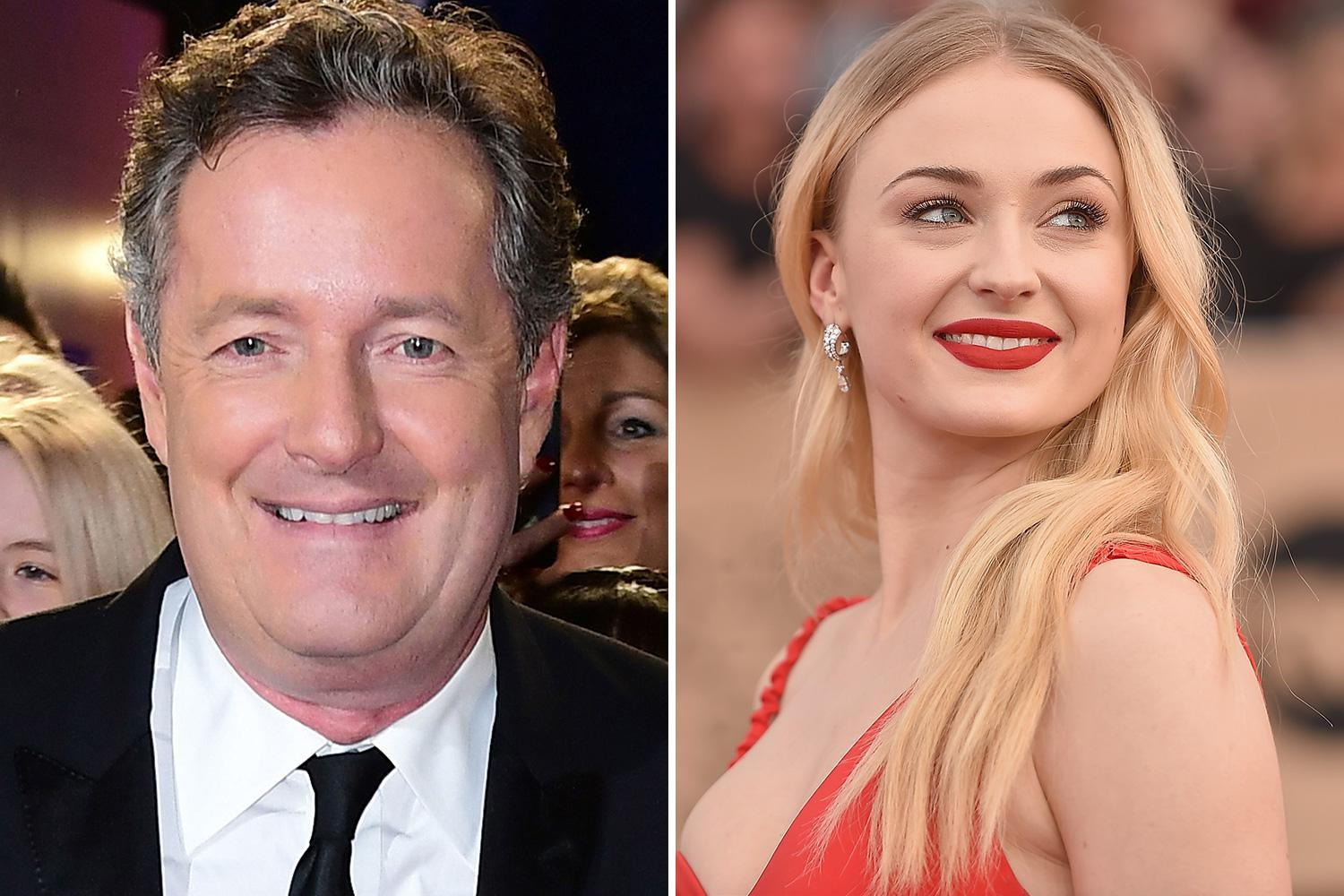 Piers Morgan and Game of Thrones' Sophie Turner in Twitter spat over 'fashionable' mental illness comments