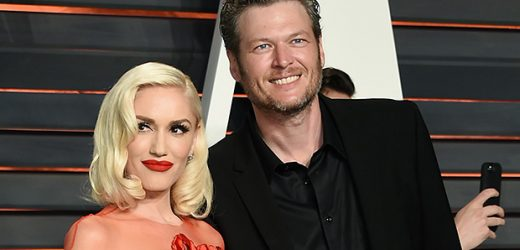 Gwen Stefani & Blake Shelton Share Sweet New Year Kiss At Midnight — See Pic