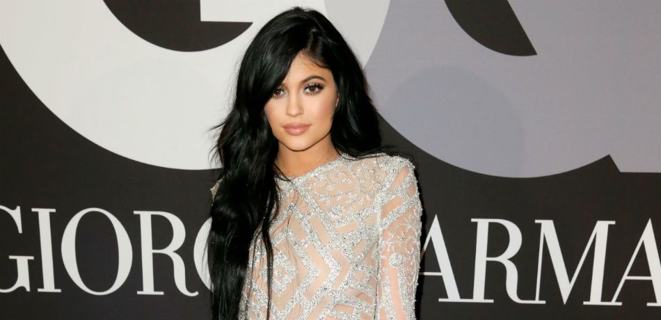 Kylie Jenner Dons Sexy Red Dress As She Teases Her Valentine's Day Collection
