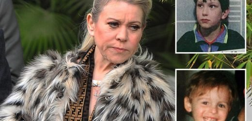 Shameless star Tina Malone hauled to High Court for re-tweeting 'picture of James Bulger's killer Jon Venables'