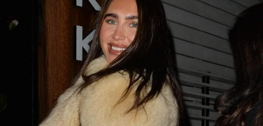Lauren Goodger posts snaps of boozy night out before getting into her car and driving home