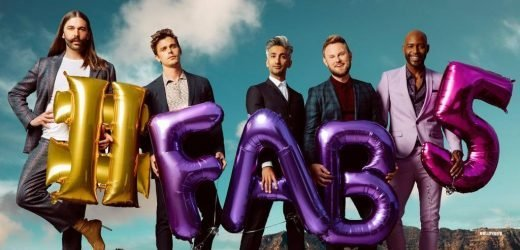 When is QueerEye: We're in Japan on and will all of the Fab Five be going?