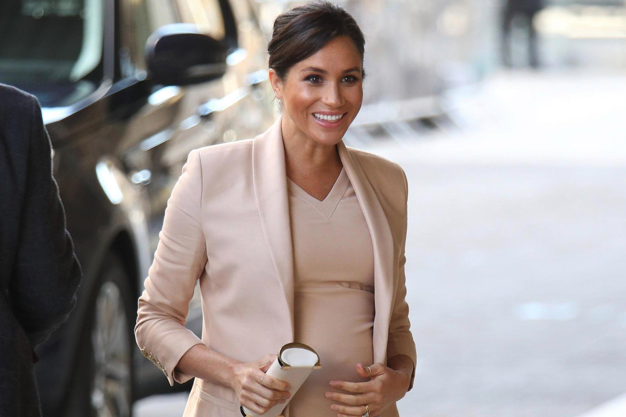 Pregnant Meghan Markle has stopped closing car doors after stark warning about terror attacks