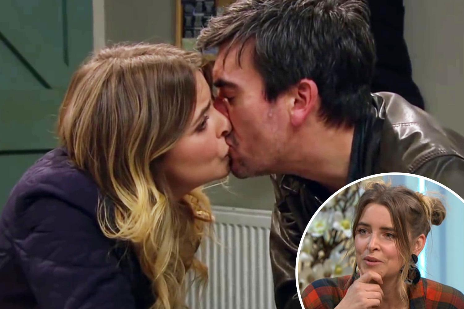 Emmerdale's Charity Dingle could betray fiancee Vanessa for steamy affair with COUSIN Cain says actress Emma Atkins