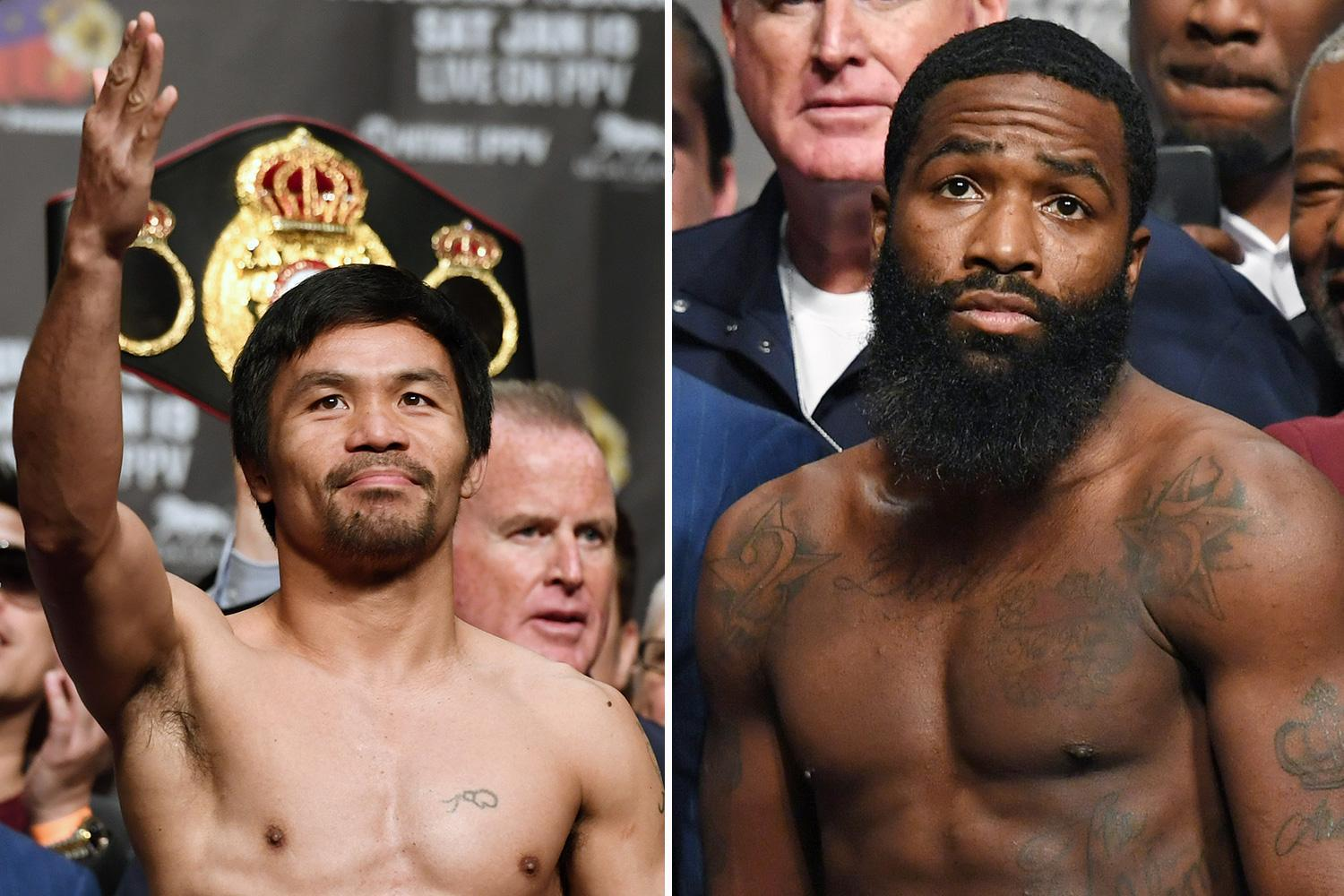 Pacquiao vs Broner live stream FREE: How to watch TONIGHT'S big fight on TV and online for free