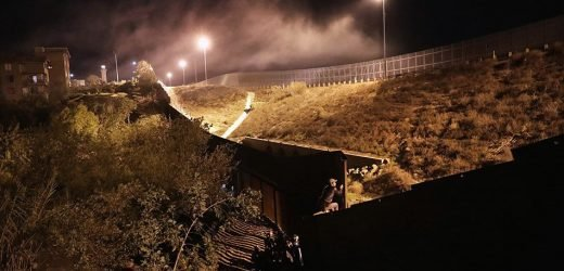 U.S. Agents Fire Tear Gas At Migrants Attempting To Cross The Mexico Border On New Year's Eve