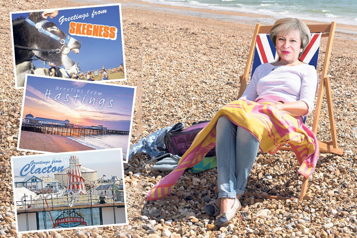 Theresa May to splash cash in Tory coastal towns & Labour heartlands to win Brexit support