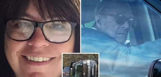 Prince Philip's crash victim weeps and says 'I'm lucky to be alive and he hasn't even said sorry