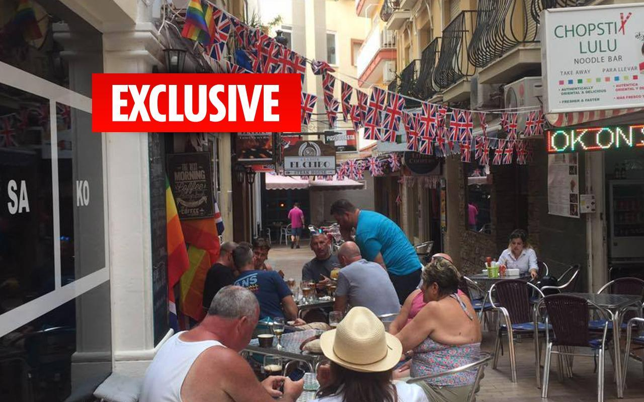 Spanish cops order British bar owner in Benidorm to tear down Union Jack bunting