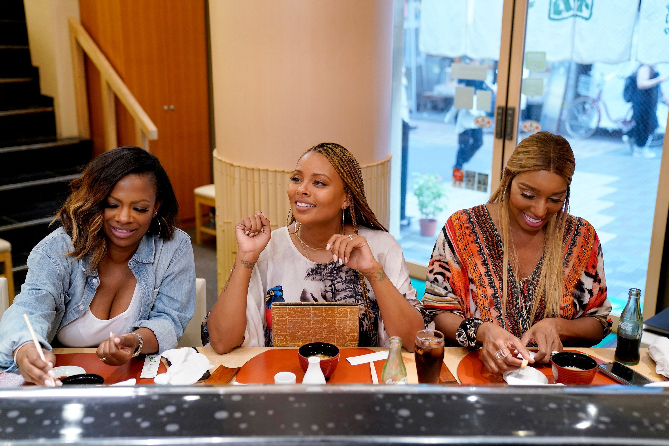 The Real Housewives of Atlanta Cast Goes to Japan, Eats McDonald's: 'Finally Some Real Food'