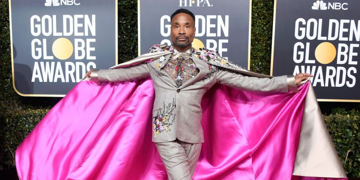 Billy Porter's Golden Globes Look Just Changed My Life