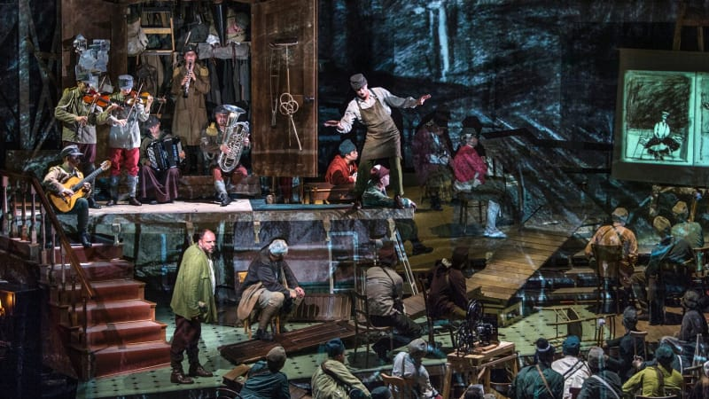 Wozzeck review: Nothing succeeds like excess for Kentridge