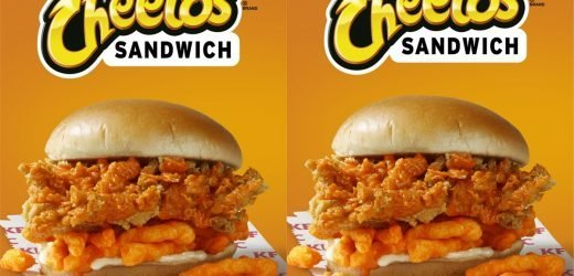 KFC Is Launching A CHEETOS SANDWICH Complete With A Special Cheetos Sauce
