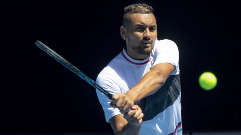 Kyrgios' struggle to 'lay it all on the line'