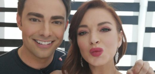 Lindsay Lohan Just Had a 'Mean Girls' Reunion With Aaron Samuels
