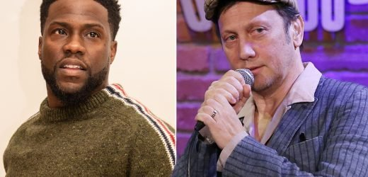 Rob Schneider rips 'morons' at the Academy for Kevin Hart drama