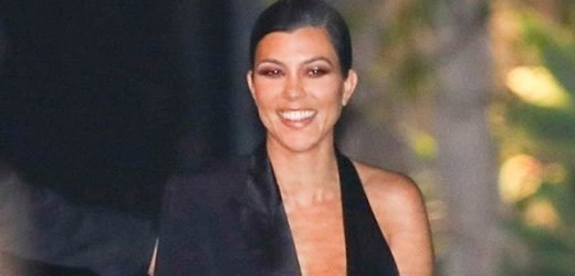 Kourtney Kardashian Flaunts Cleavage While Rocking A Sexy Bralette For John Legend's Bday Party