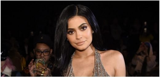 Kylie Jenner Flaunts Curves In Neon Green Dress
