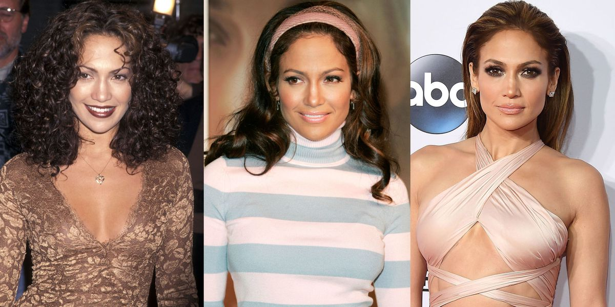 Jennifer Lopez Has Worn Some Wild Hair and Makeup Looks Over The Years