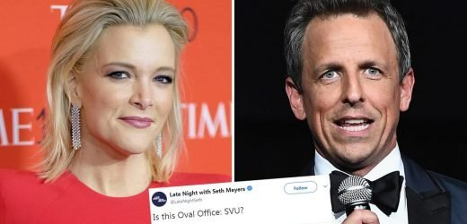 Megyn Kelly Leads Outrage Over 'Late Night with Seth Meyers' Tweet Comparing Trump Speech to 'Law & Order: SVU'