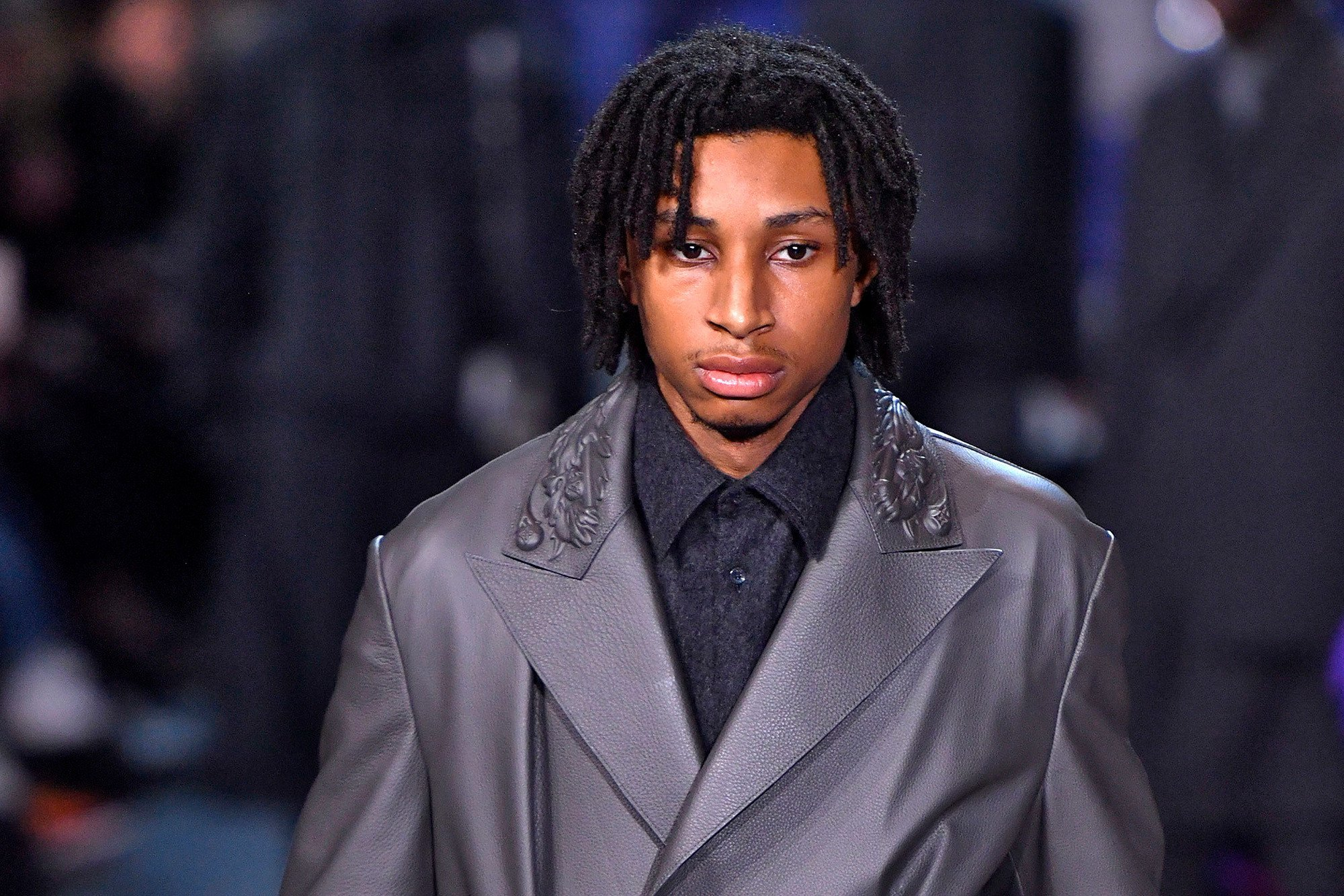 Swizz Beatz's son makes runway debut in Paris