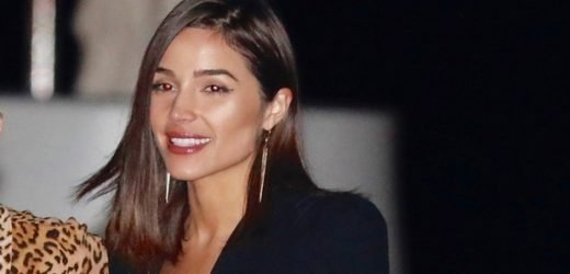 Olivia Culpo Stuns In Plunging Romper On Date With Danny Amendola After Reuniting On NYE