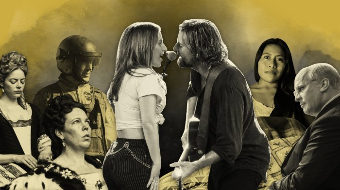 'Roma,' 'A Star Is Born' Poised to Lead Oscar Nominations