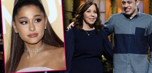 So Blue! Pete Davidson Cried To His Mom After Heartbreak Split From Ariana Grande