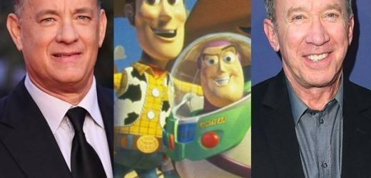 Tom Hanks & Tim Allen Get Emotional as They Wrap Up Toy Story 4