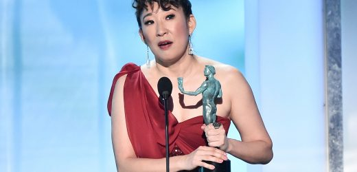 Sandra Oh Reveals Jamie Foxx Told Her to 'Keep Going' During Hard Times in SAG Acceptance Speech