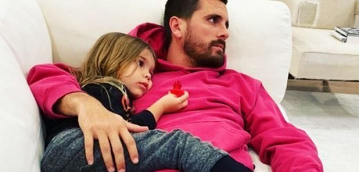 Scott Disick Shares Sweet Shot Of Reign, 4, Looking All Grown Up — New Pic