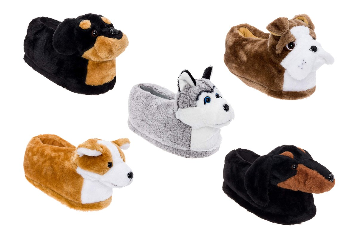 These Dog Slippers Are Fur-Real the Cutest Thing on the Internet Right Now