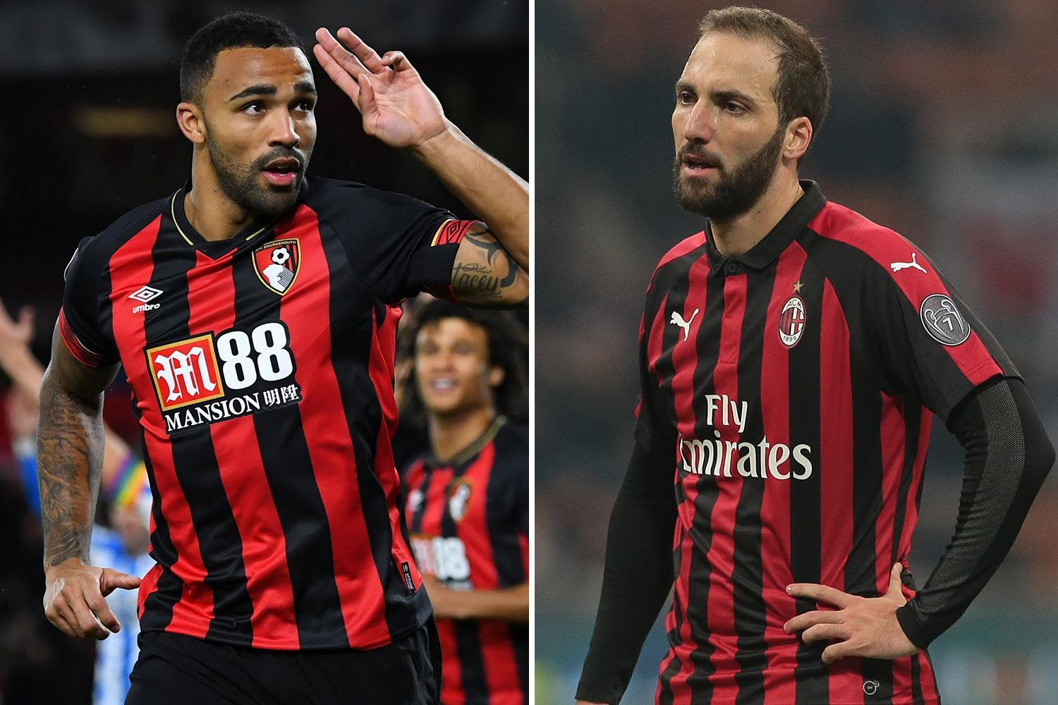 Chelsea willing to pay up to £50m for Callum Wilson if they don't land Higuain