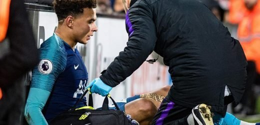 Dele Alli out for SIX weeks with hamstring injury in another blow to Tottenham following Harry Kane getting crocked