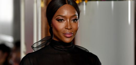 Naomi Campbell looks stunning, flashes nipples at Valentino show after 14-year break