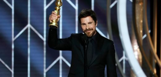 Christian Bale says 'thank you to Satan' for Golden Globes win as Dick Cheney in 'Vice'