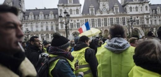 Yellow vest protesters march through French cities after Macron gov't hardens stance