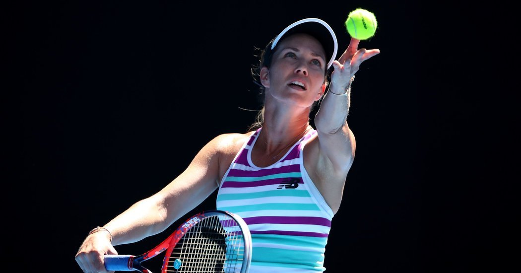 Danielle Collins Stuns Foe to Reach Australian Open Quarterfinals