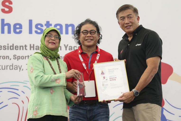 SportCares: Six feted in inaugural SportCares Awards at Istana