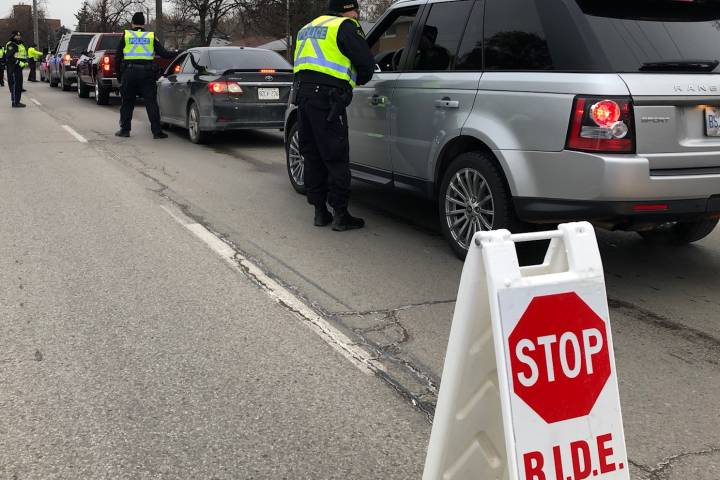 Wellington County OPP lay 28 impaired driving charges during Festive RIDE campaign