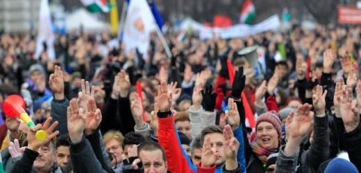 'We have had enough' say Hungarians rallying against PM Orban