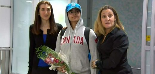 'A very brave new Canadian': Saudi teen who fled 'abusive' family arrives in Toronto