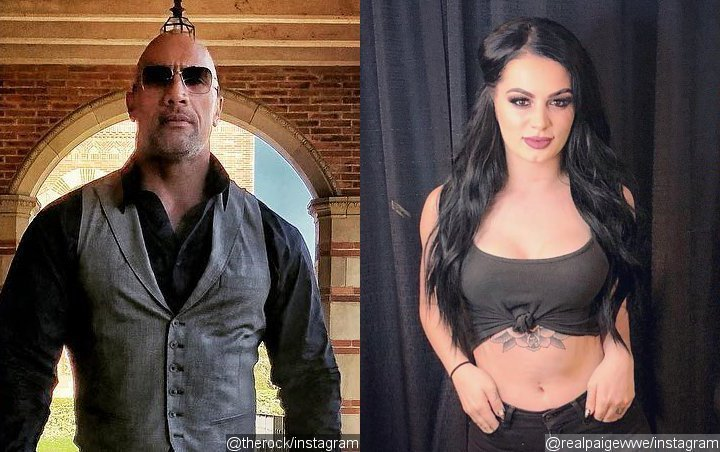 Dwayne Johnson Reduced WWE Star Paige to Tears With Biopic Offer