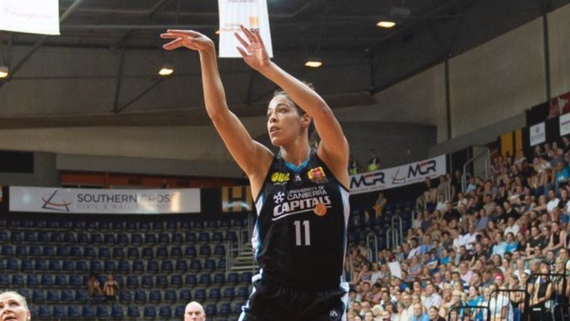Capitals sweep Perth to surge into WNBL grand final