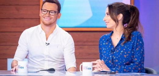 Loose Women fans accuse Joe Swash of farting live on air in awkward moment