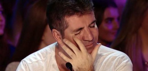 Simon Cowell breaks down during Britain's Got Talent audition of hero police dog