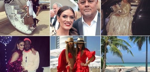 Wife of Boohoo fashion empire shows off her lavish lifestyle