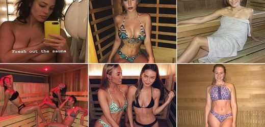 How the SAUNA selfie has beome the hottest insta trend